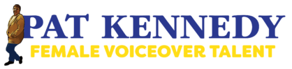 Pat Kennedy Voiceover Logo